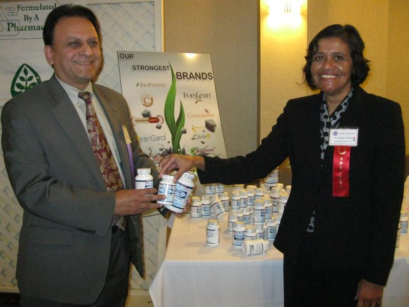 Sabinsa Draw for Nutraceuticals - Winner Dr. Rajeev Mehta