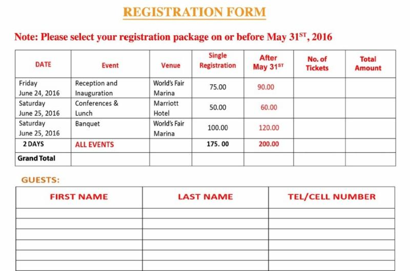 GOPIO Conv. Registration Form
