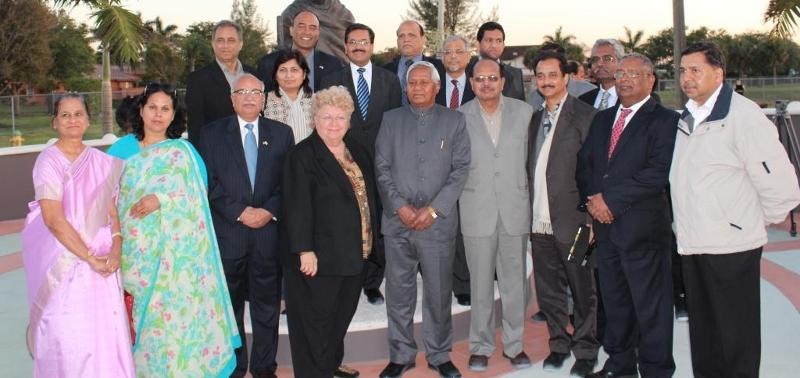 Indian Parliamentary Delegation in Davie, Florida