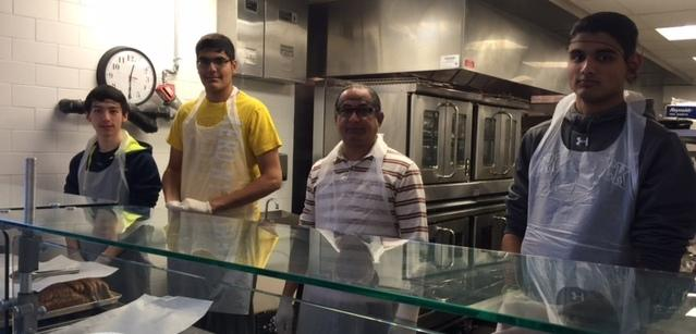 GOPIO-CT volunteers at the soup kitchen in Stamford