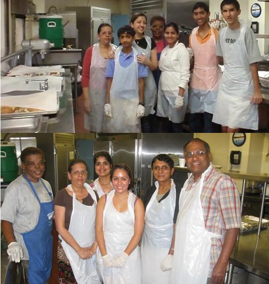 GOPI-CT Volunteers at Soup Kitchen in Stamford, CT, USA