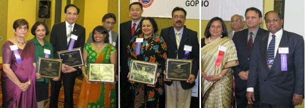 GOPIO Health Summit Award Recipients honored