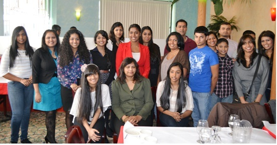 GOPIO-Upper New York Youth at its first meeting on Jan. 28th, 2012