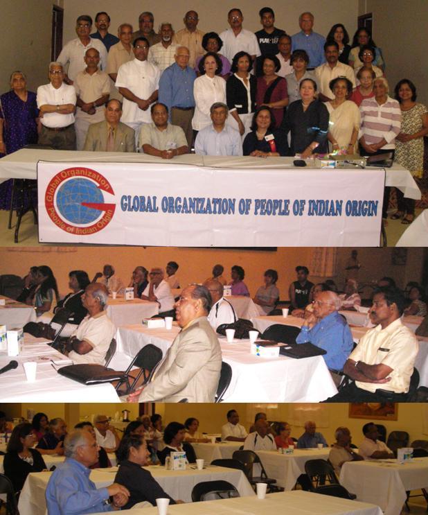 GOPIO Health Seminar at the Kerala Center