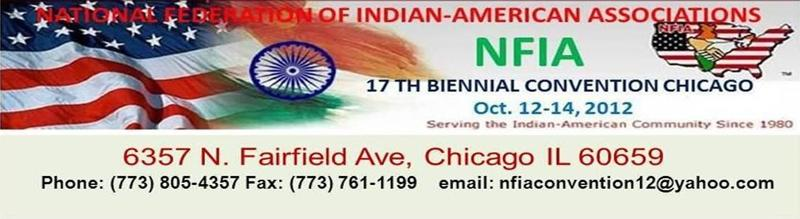 NATIONLA FEDERATION OF INDIAN AMERICAN ASSOCIATIONS CONVENTION 2012