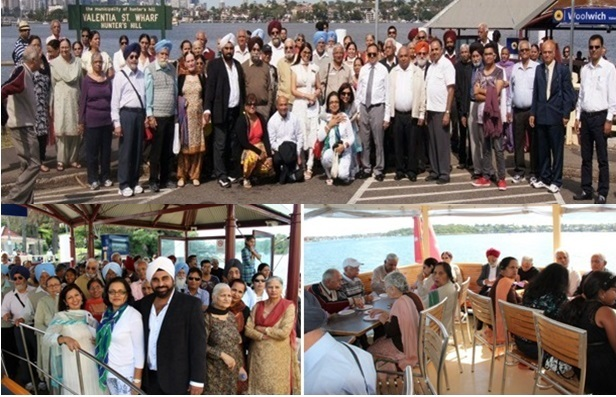 Scenes for Caring Cruise for Senior Citizens by GOPIO-Sydney