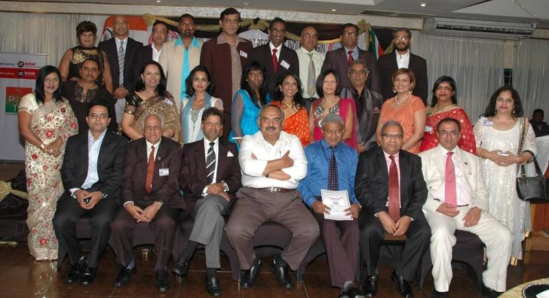 GOPIO Durban Officials with Dignitaries