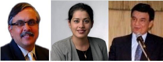 GOPIO Special Awardees 2013 - Dr. Didar Singh, Manpreet Kaur Singh and Ashok Rao