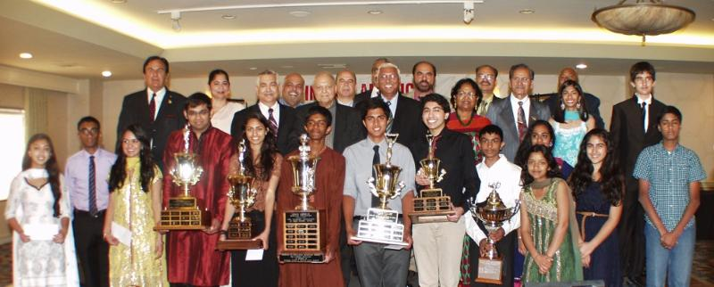 Heritage Awards 2013 - All Award Winners with Heritage and GOPIO Committee Members