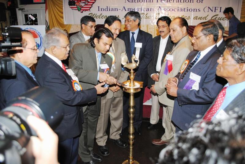 NFIA Conv.Inauguration by Lighting of the Lapm by Amb.Arun K. Singh