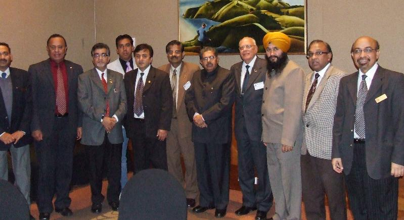GOPIO-Newzealand oficials with MOIA Minister Vayalar Ravi