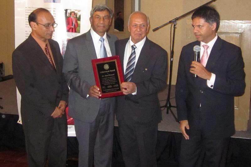 GOPIO Toronto Honors Yesu Persaud