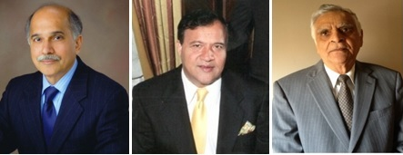 GOPIO -CT Awardees, Prof. Ramamurti Shankar, Rakesh Narang and Suresh Sharma