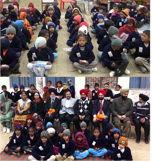 GOPIO Australia helps Punjab school