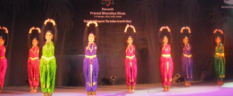 PBD.2013.Cultural Program - Bharata Natyam by Geeta Chandran Group
