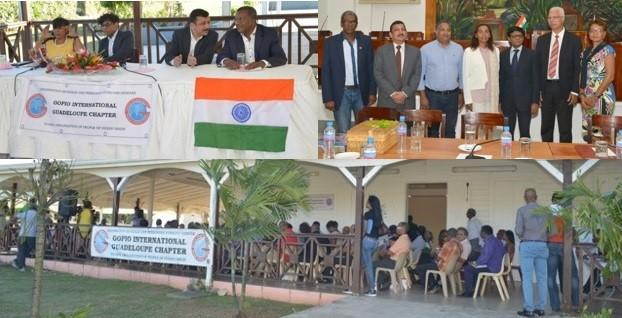 Indian Ambassador to France, Dr. Mohan Kumar's visit to Guadeloupe