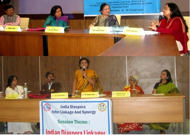 GOPIO-Gujarat Unviersity Conf. Sessions on Merging Spheres