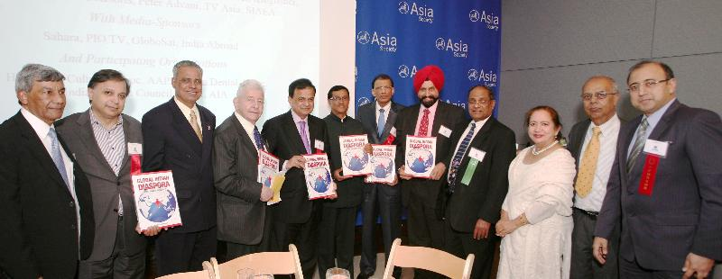 Release of the book, Global Indian Diaspora - GOPIO Making An Impact