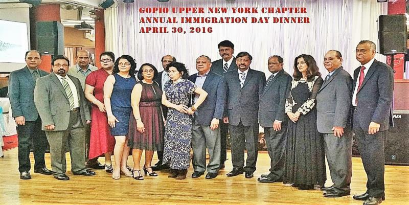 GOPIO-Upper New York Immigration Day Dinner