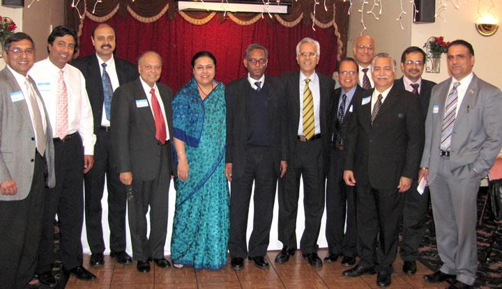 GOPIO offcials with MEA delagation in San Jose, Califirnoa