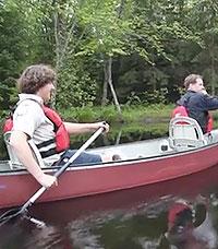 paddling the bonnechere