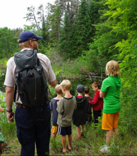 hike along the bonnechere