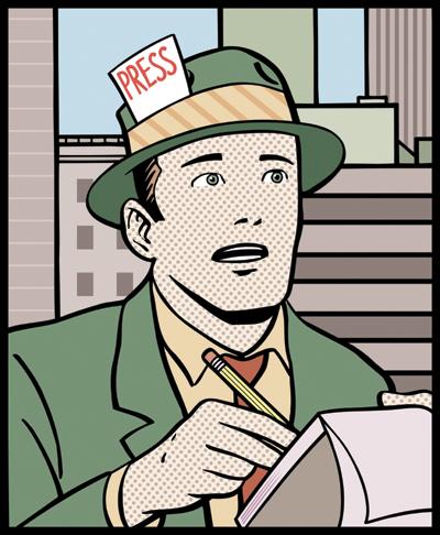 Cartoon reporter