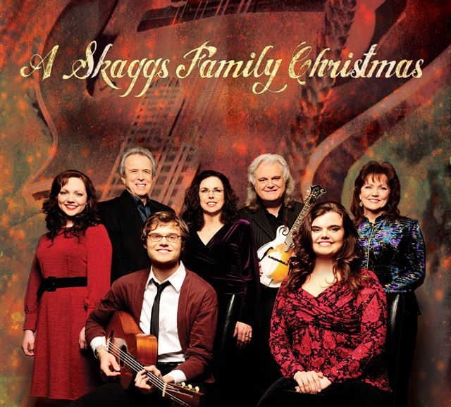 A Skaggs Family Christmas PR shot