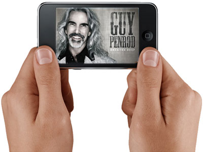 Guy Penrod iPod Touch graphic