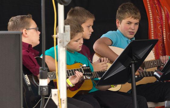 aiken  Smithfield elementary band students