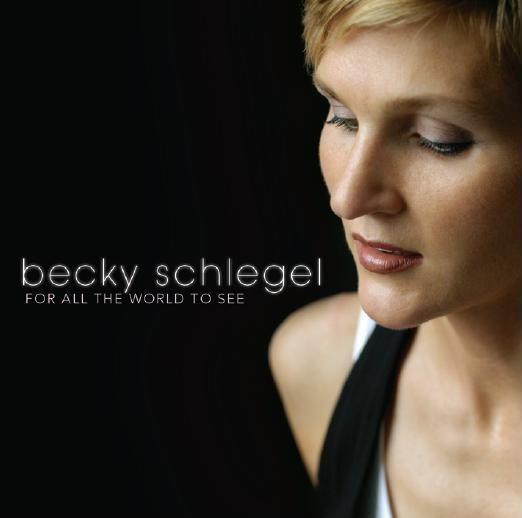 Becky Schlegel CD cover