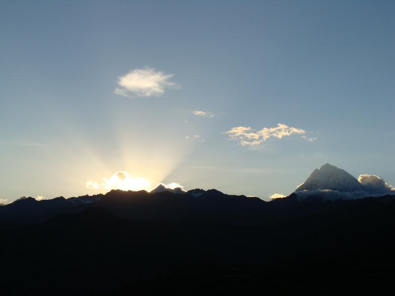 Sunrise in Peru
