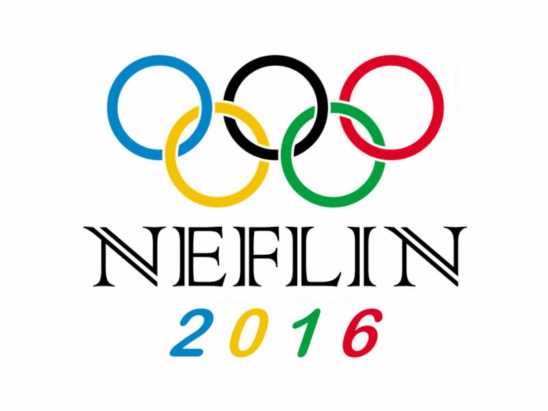 NEFLIN Librarian Olympics Logo