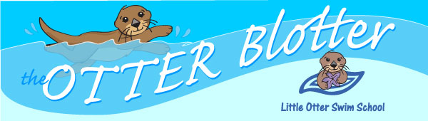 Little Otter Swim School Otter Blotter Header