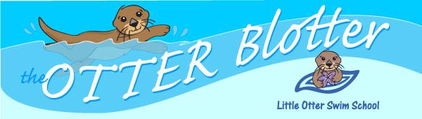 Little Otter Swim School Otter Blotter Header