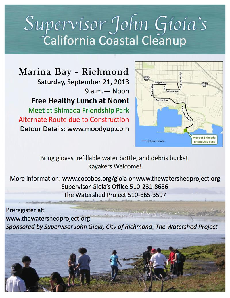 Coastal Cleanup 2013