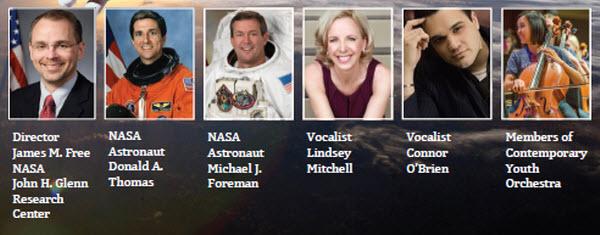 NASA performers