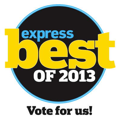 Please vote us Best of 2013