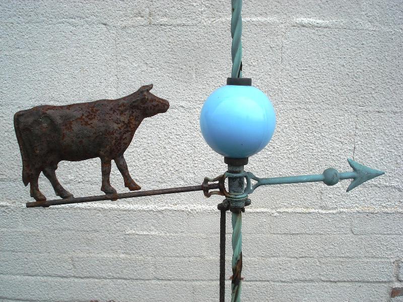weathervane cow
