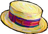 PIC OF JAUNTY HAT