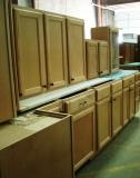PIC OF MAPLE CABINETS