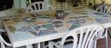 PIC OF MOSAIC PATIO TABLE