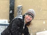 PIC OF DEBBIE IN SNOW
