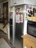 pic of fridge and microwave