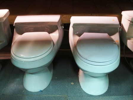 picture of one-piece toilets