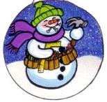 PIC OF CARPENTER SNOWMAN