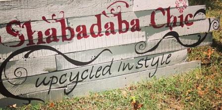 Pic of Shabadaba Chic sign