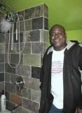 pic of jeff with great tile work