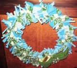 PIC OF BLUE WREATH