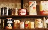 PIC OF VINTAGE AD TINS